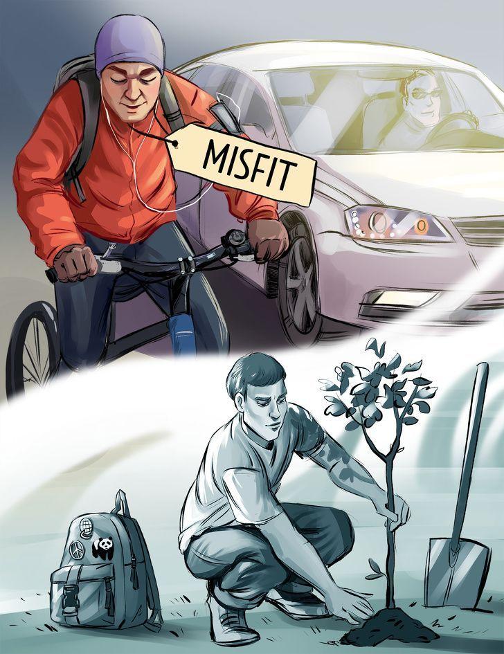 6 Ilustrasi Ini Ajak Kita Tidak Gampang Menilai Orang dari Tampilannya