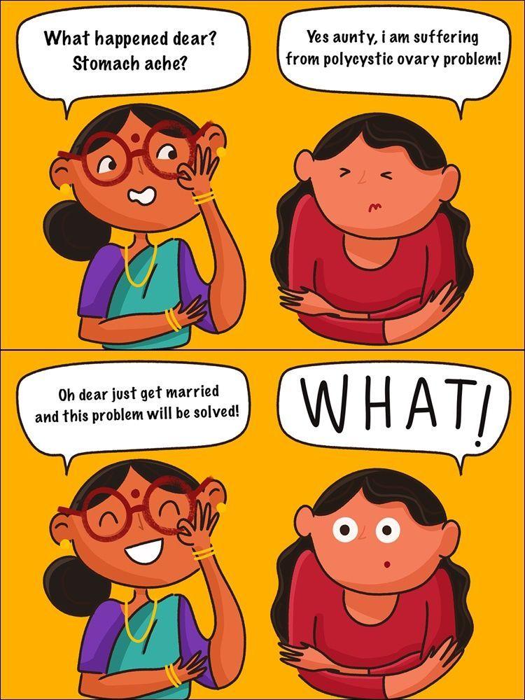9 Ilustrasi Lucu Perjuangan Menghadapi Pertanyaan 'Kapan Nikah?'