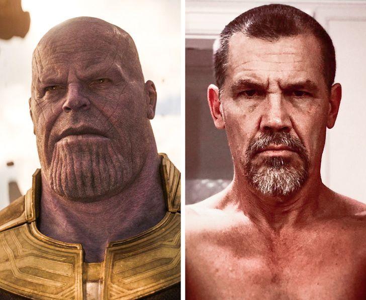 7 Wajah Asli Aktor di Balik Topeng Karakter Film Marvel