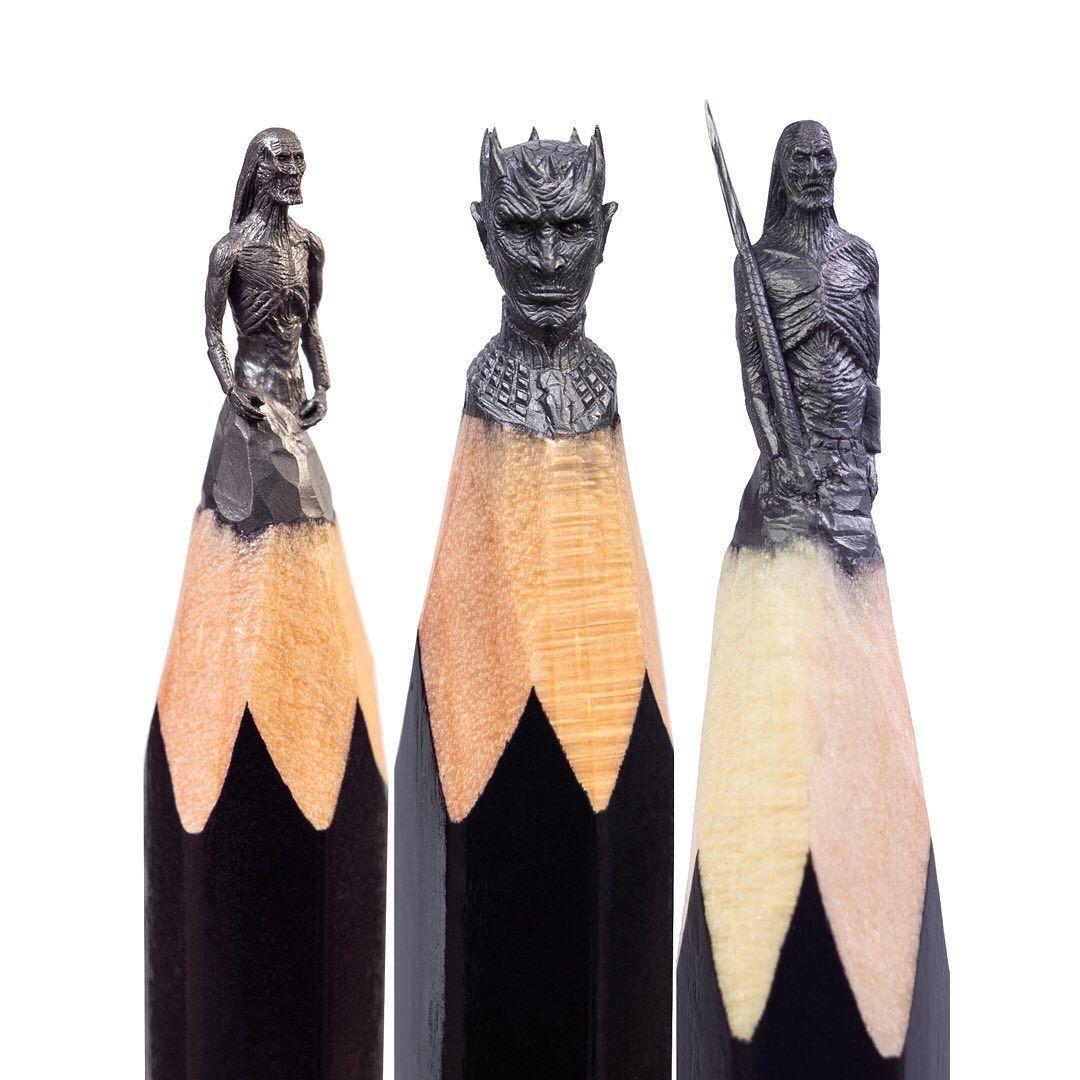 Super Detail! 10 Karya Seni Ini Dibuat dari Ukiran Pensil