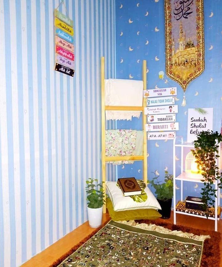 15 Inspirasi Desain Musala Cantik di Rumah Mungil
