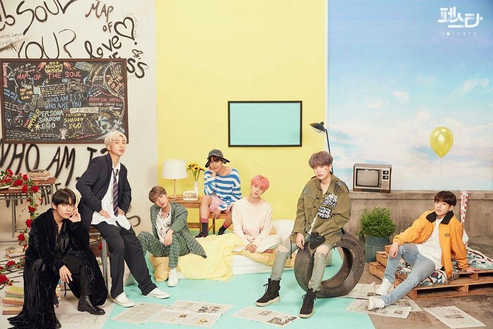 15 Inspirasi Foto Grup dari BTS yang Bisa Kita Tiru