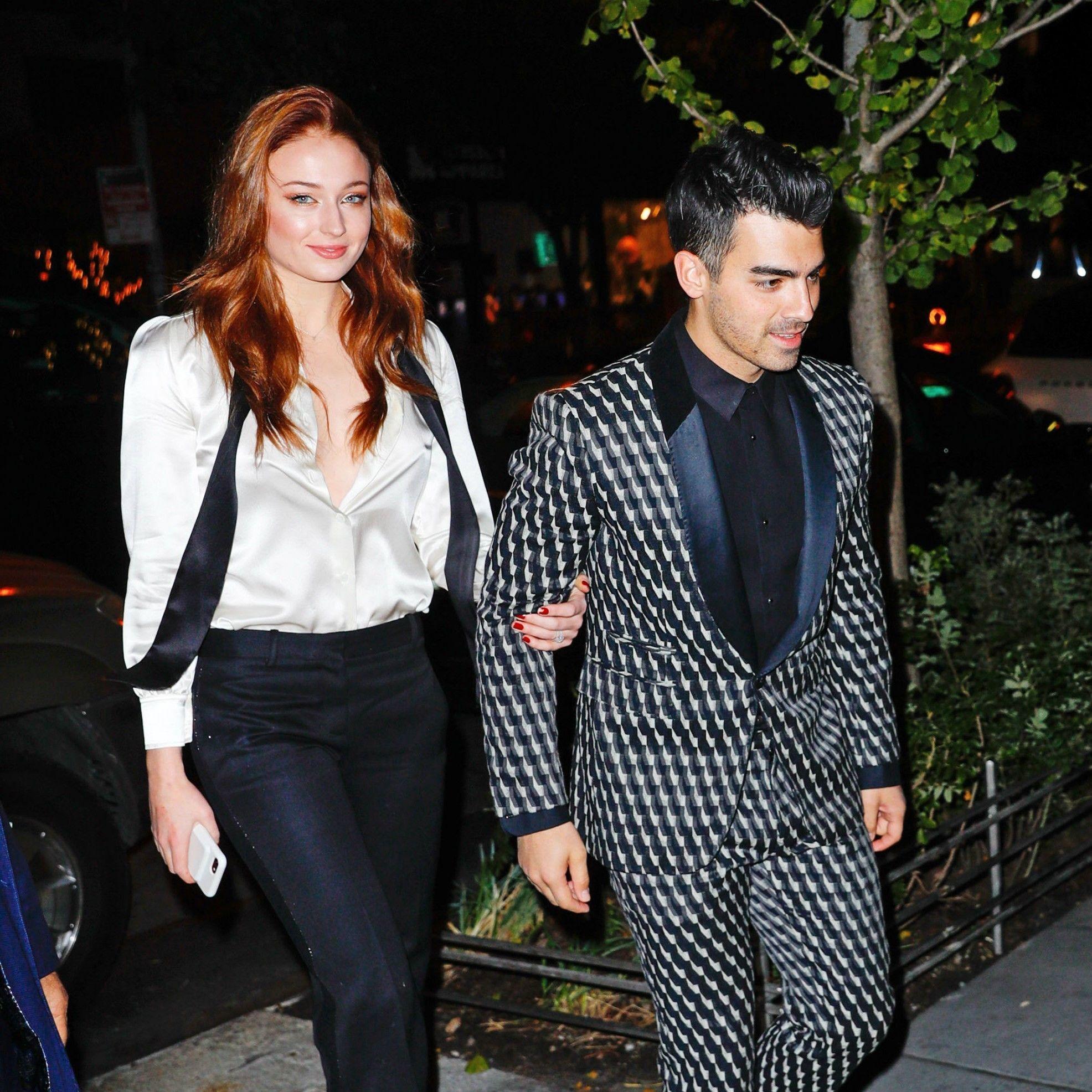Kompak! Sophie Turner dan Joe Jonas Selalu Tampil Kece