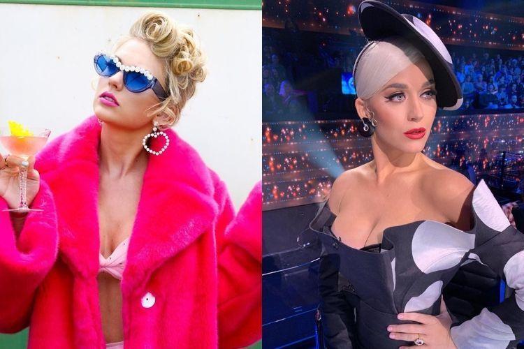 Begini Perbedaan Gaya Makeup Taylor Swift dan Katy Perry