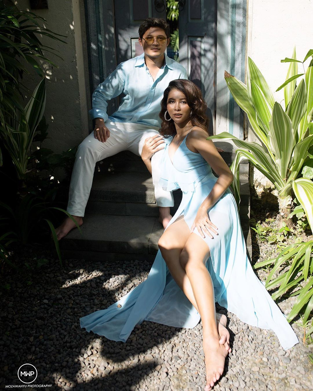 Segera Menikah, Bunga Jelitha & Syamsir Alam Lakukan Foto Pre-Wedding