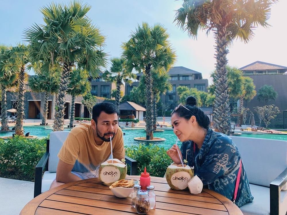 Manisnya Momen Liburan Raffi Ahmad dan Nagita Slavina di Bali
