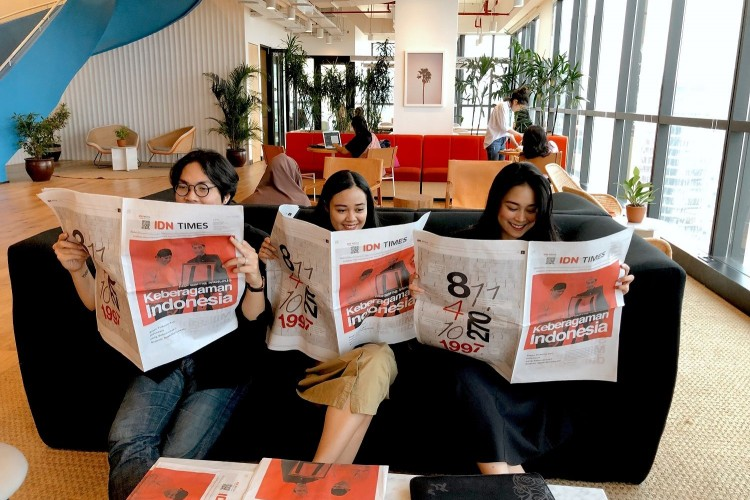 IDN Times Rilis Koran yang Buat Generasi Millennial Peduli Toleransi