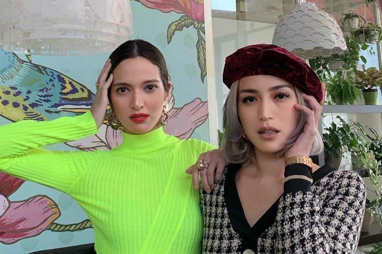 Ini Perbandingan Gaya Makeup Nia Ramadhani dan Jessica Iskandar