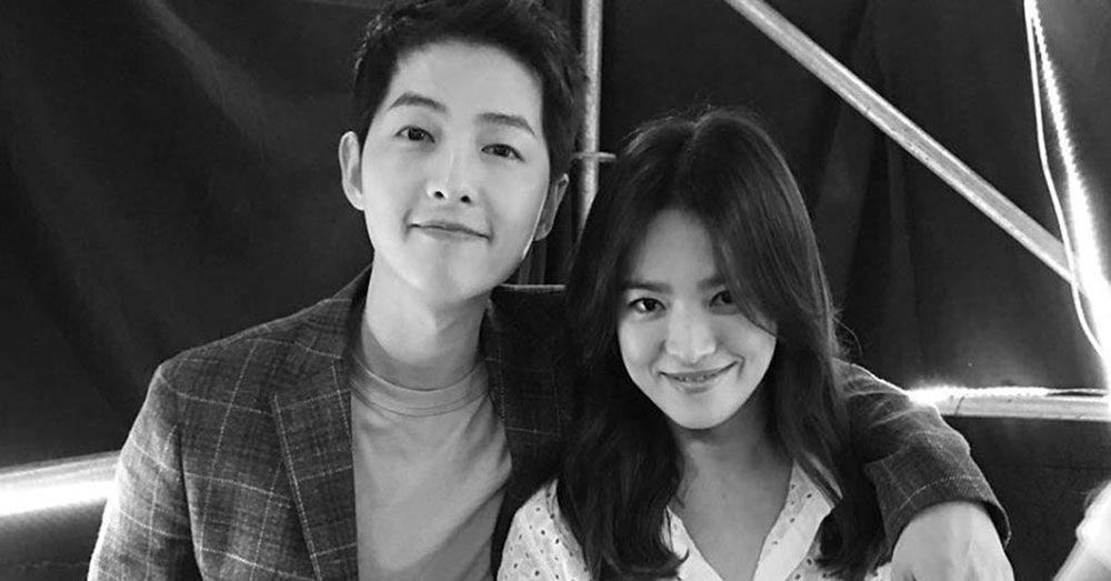 Breaking: Song Joong Ki Gugat Cerai Song Hye Kyo