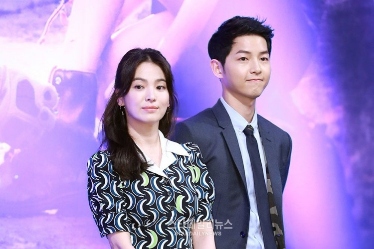 Breaking: Song Joong Ki Gugat Cerai Song Hye Kyo