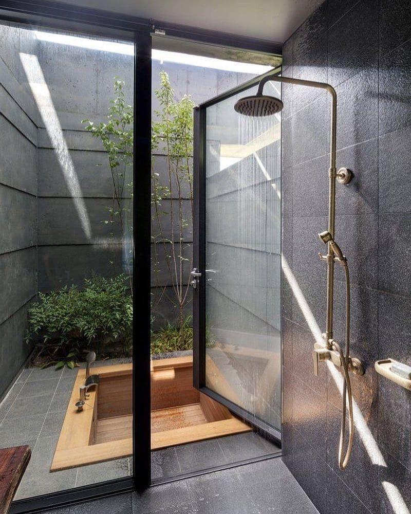 Inspirasi Desain Kamar Mandi Terbuka A la Hotel Mewah