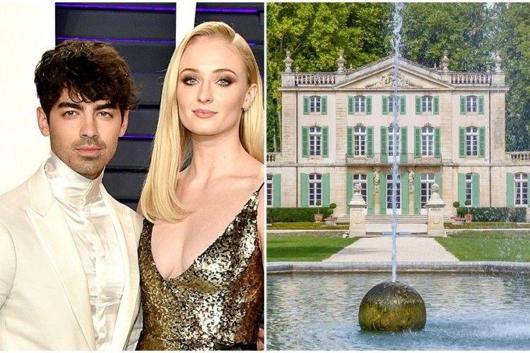 Harga Sewa Gedung Pernikahan Joe Jonas dan Sophie Turner, Semahal Apa?