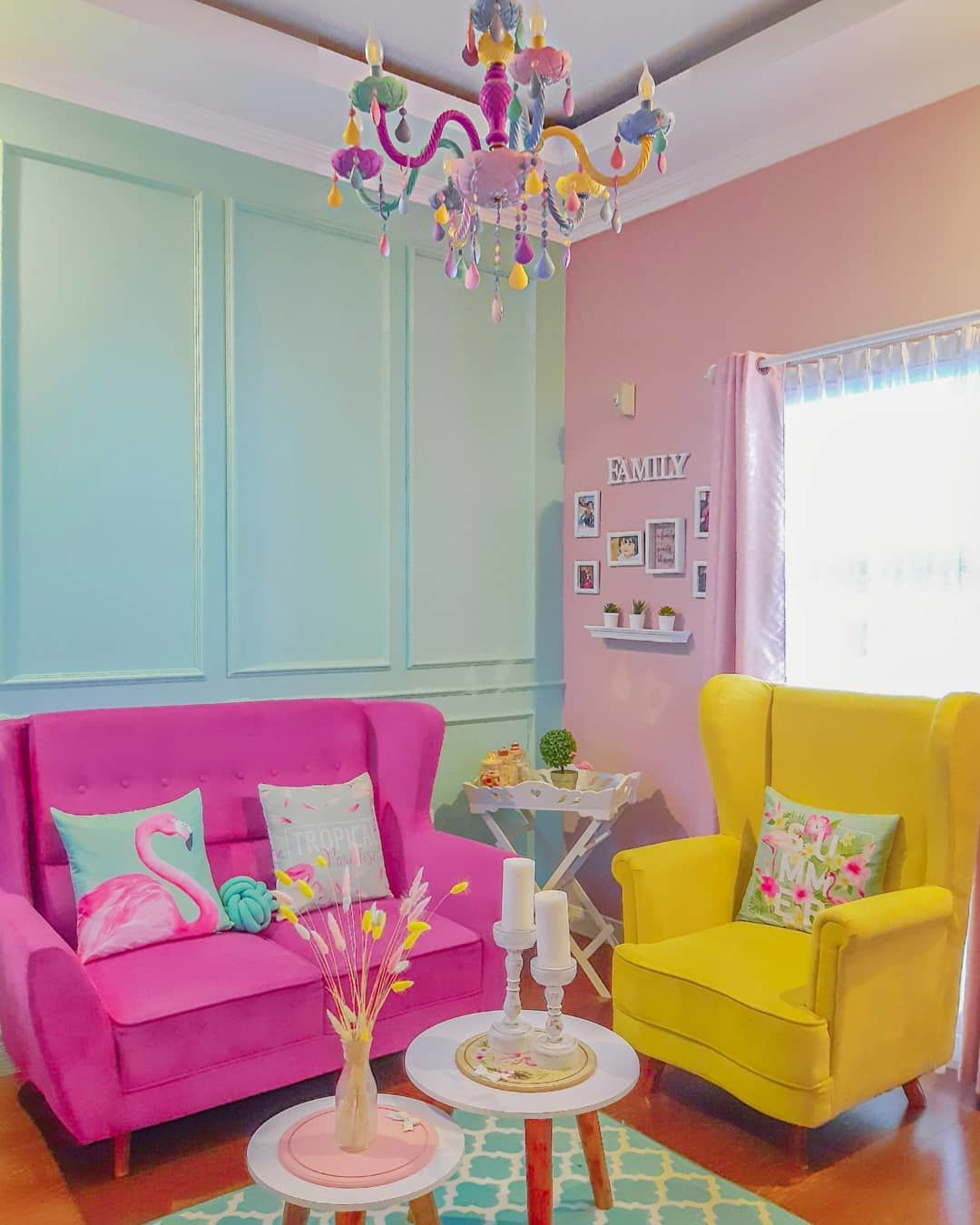 Inspirasi Desain Rumah Tipe 36 Penuh Warna