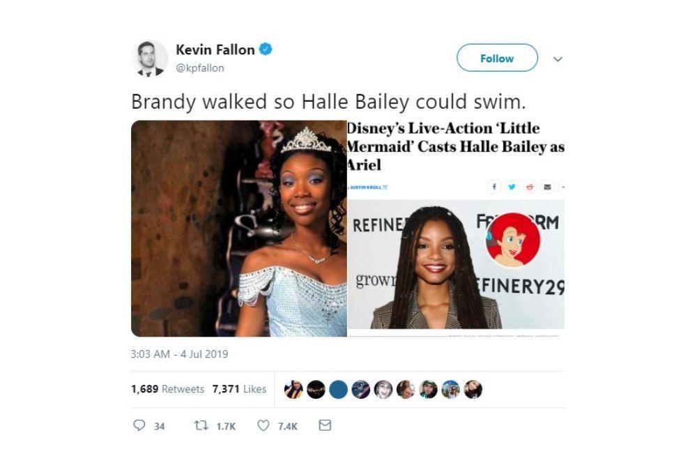 Confirmed! Halle Bailey Perankan Princess Ariel, Ini Reaksi Netizen