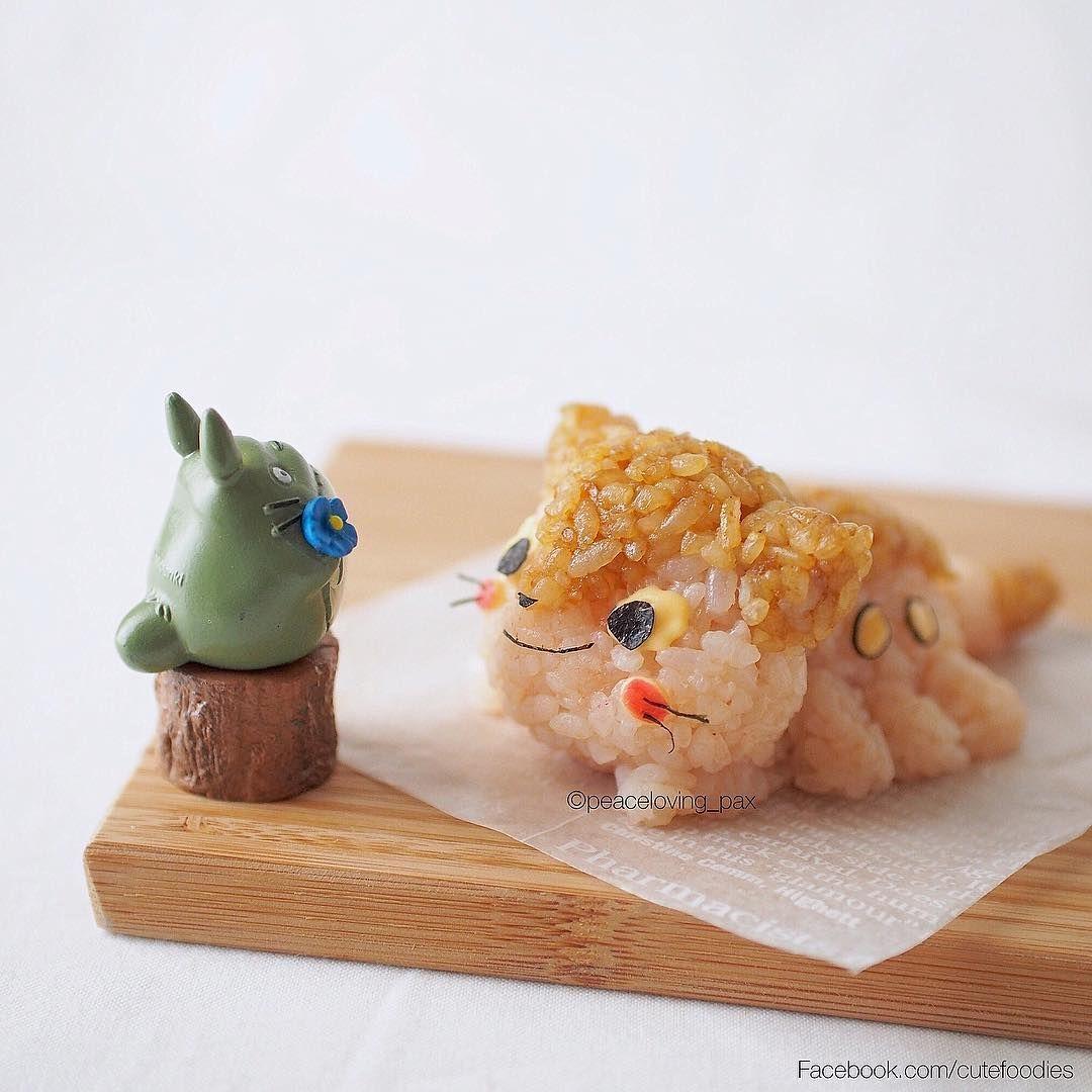 Gemas! 10 Karakter Dalam Film Ini Dibuat dari Nasi