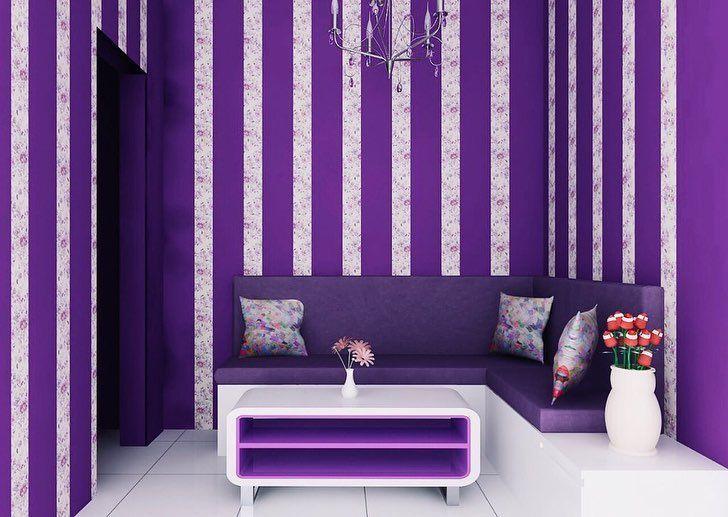 Inspirasi Desain Rumah Berwarna Ungu