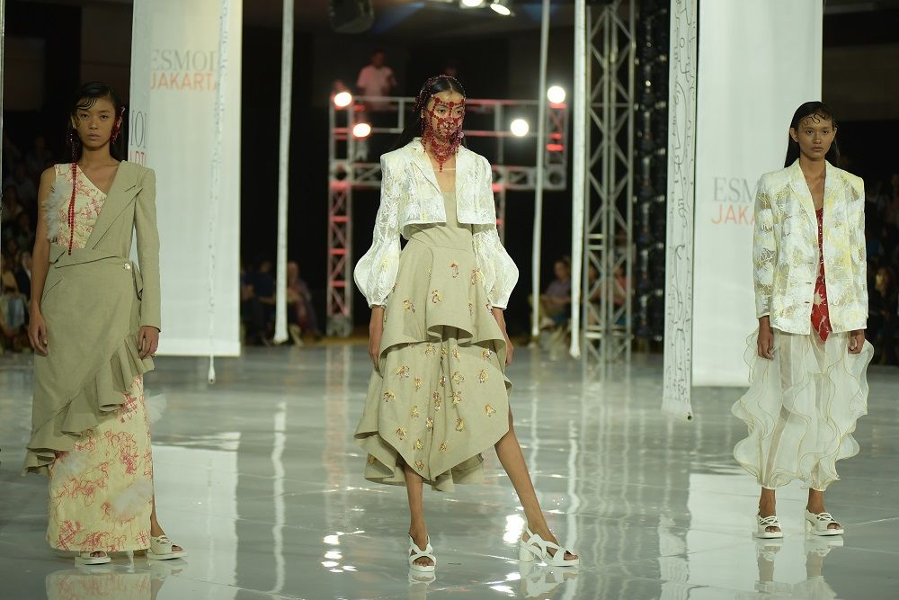 ESMOD Dukung Karya Desainer Muda Lewat 'Fashion Art Vibes'
