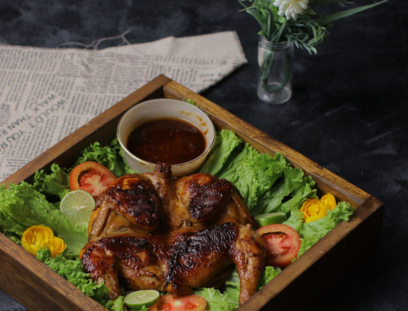 Resep Ayam Bakar Pedas Manis