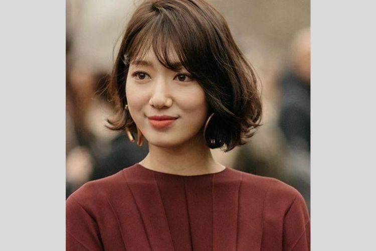 7 Inspirasi Model Rambut Pendek a la Wanita Korea