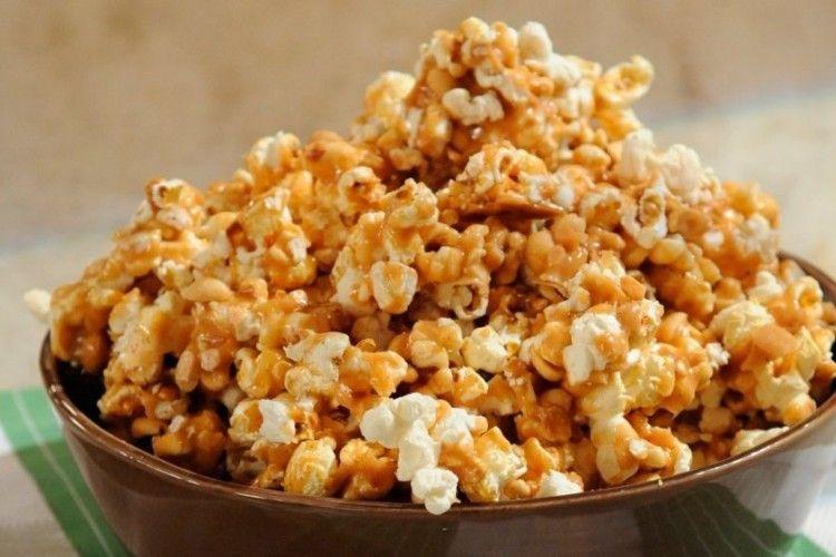 Resep Salted Caramel Popcorn