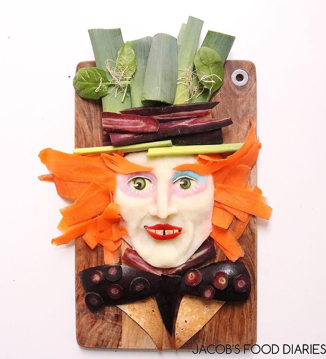 kreasi makanan organik jadi 11 karya seni yang keren banget