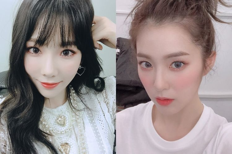 Perbandingan Gaya Taeyeon 'SNSD' dengan Irene 'Red Velvet'