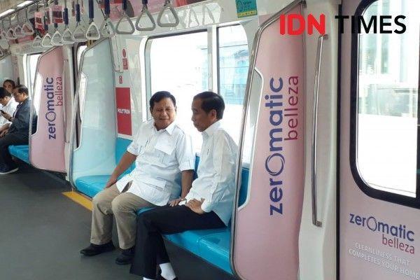 10 Momen Keakraban Presiden Joko Widodo dan Prabowo Subianto