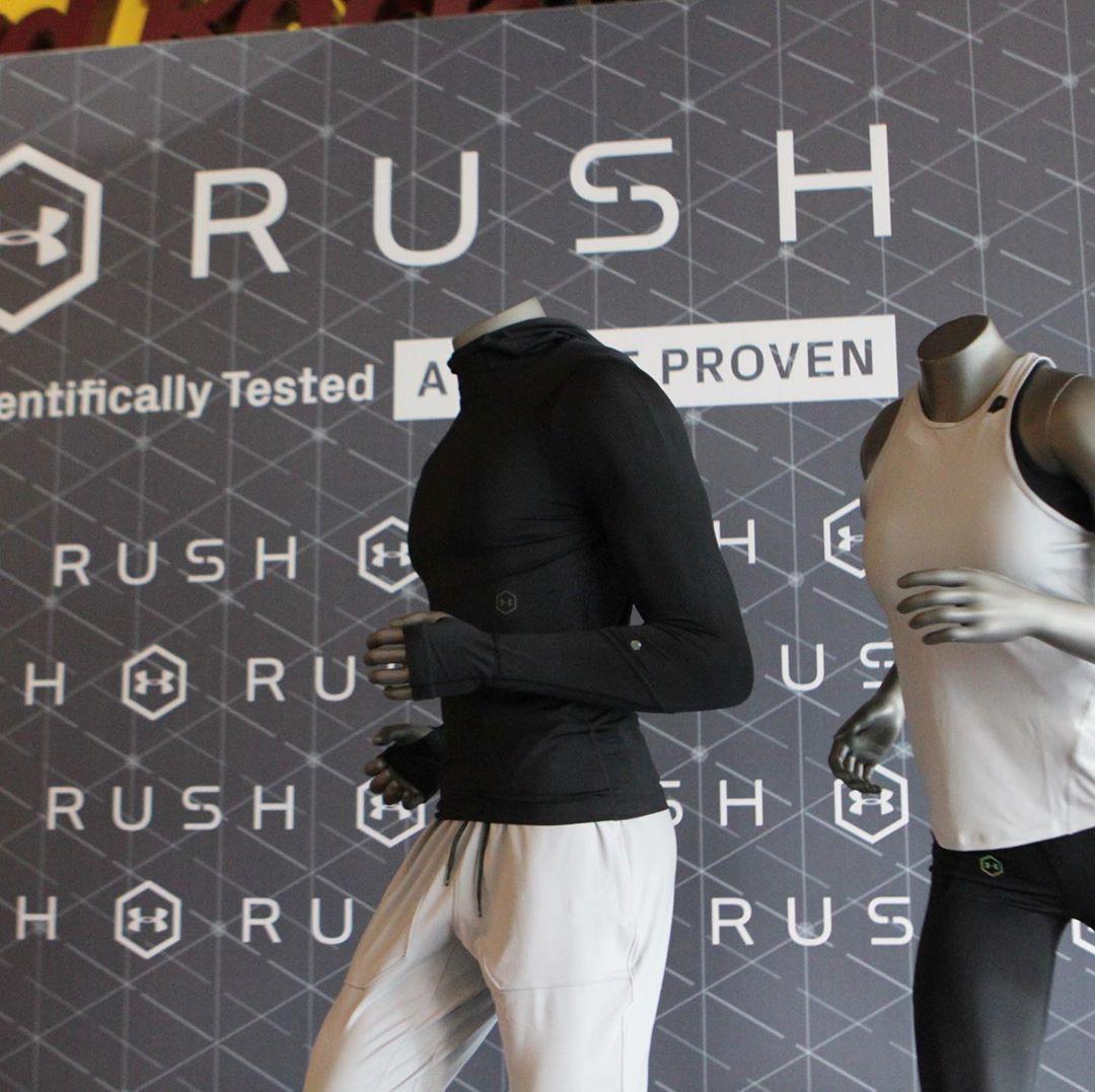 Under Armour Berikan Inovasi Baru Pada Koleksi RUSH & Recovery