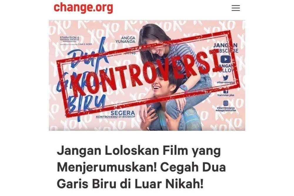 Raup Setengah Juta Penonton, Ini Kontroversi Film Dua Garis Biru