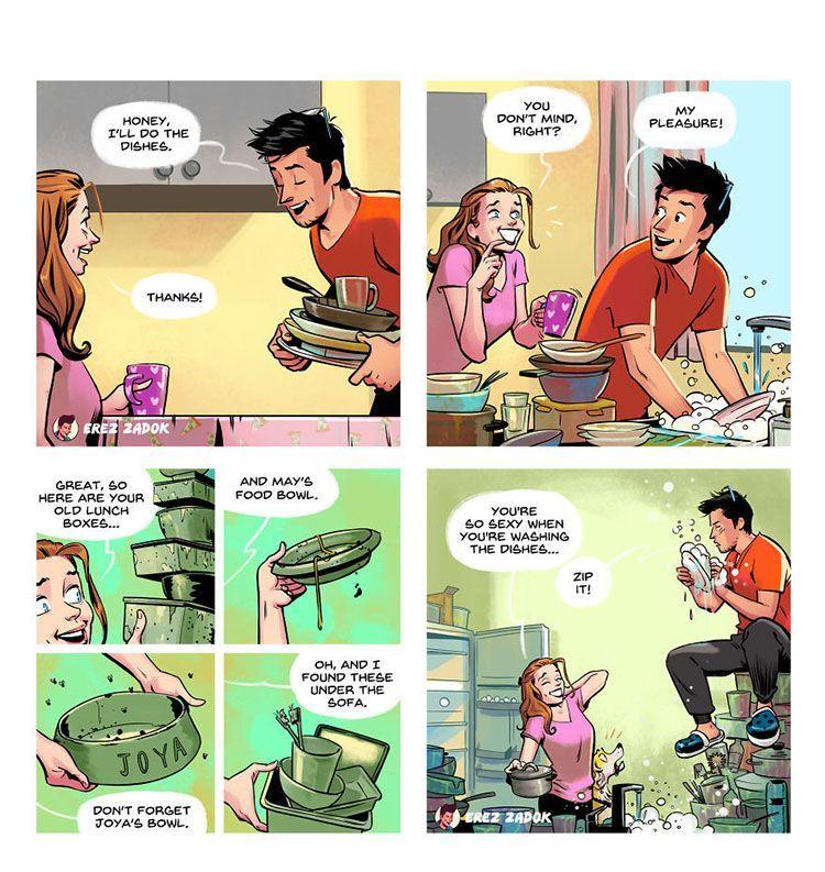 10 Ilustrasi Serunya Jadi Orangtua Muda, Mana yang Kamu Banget?