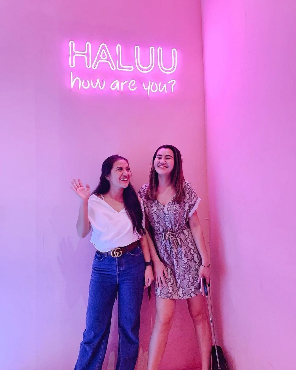 Friendship Goals! Potret Kebersamaan Marsha Aruan dan Aaliyah Massaid