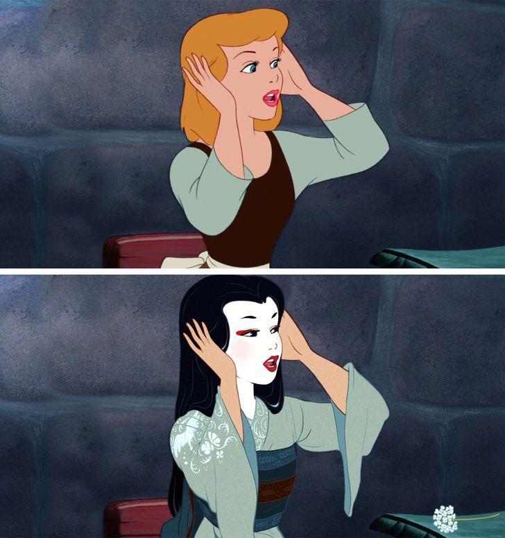 Begini Jadinya Kalau 10 Princess Disney Berasal dari Ras yang Berbeda