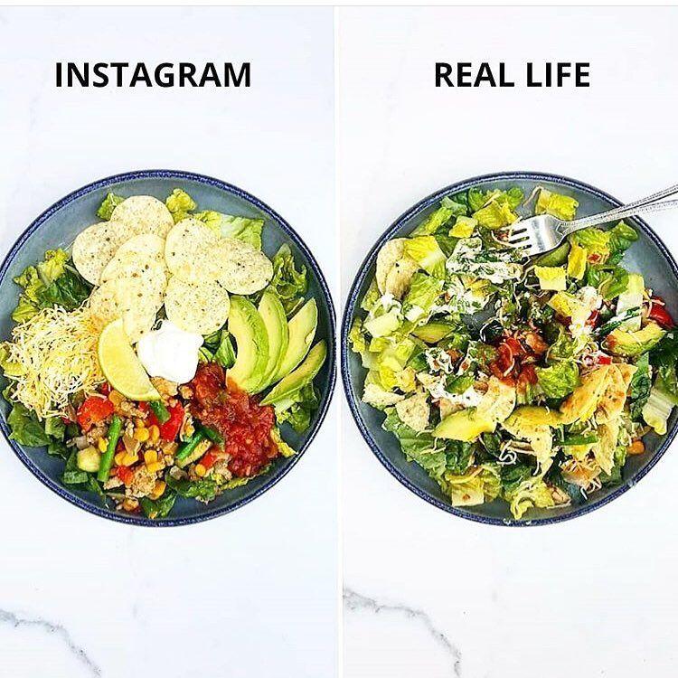 Nggak Semenarik di Instagram, Ini Tampilan Asli Makanan Organik