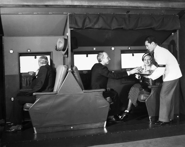10 Foto Ini Tunjukan Mewahnya Kabin Pesawat Kelas Bisnis di Masa Lalu