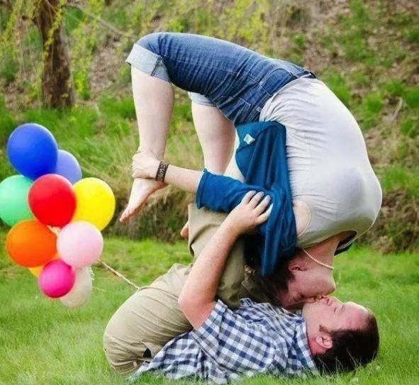 12 Foto Pre-Wedding Kocak dan Lucu yang Bikin Kamu Gagal Fokus
