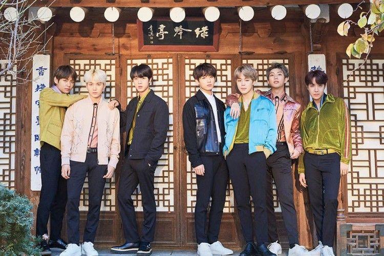 Keren! BTS Tembus Sepuluh Besar Billboard Japan Hot 100