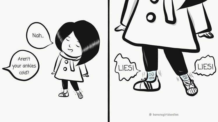 13 Ilustrasi Lucu Ekspektasi vs Realitas yang Bikin Ngakak