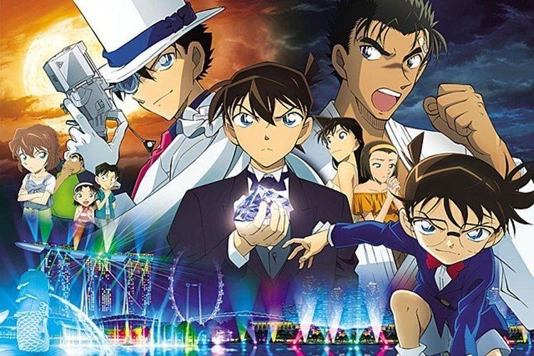 Review Film Detective Conan: The Fist Blue Sapphire yang Menegangkan