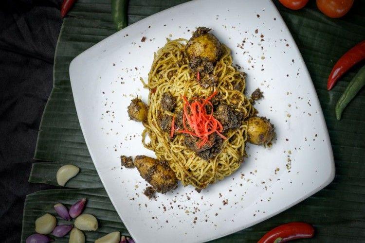 Cobain Yuk Menu Baru Spaghetti Rendang a la Hotel 88 Mangga Besar VIII
