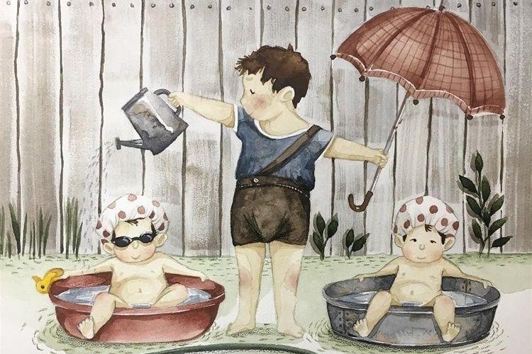 14 Ilustrasi Menyentuh Bukti Kakak Selalu Jadi Superhero Bagi Adiknya