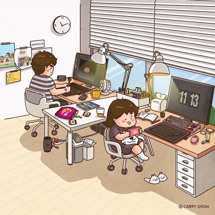 12 Ilustrasi Lucu Ini Tunjukkan Suka Duka Jadi Perempuan Mungil Ladiestory Id