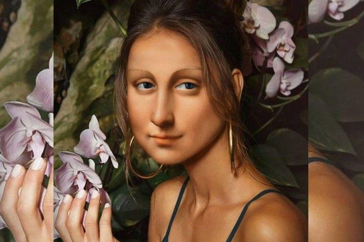 Ketika 10 Lukisan Monalisa Diadaptasi Jadi Kekinian, Super Kreatif!