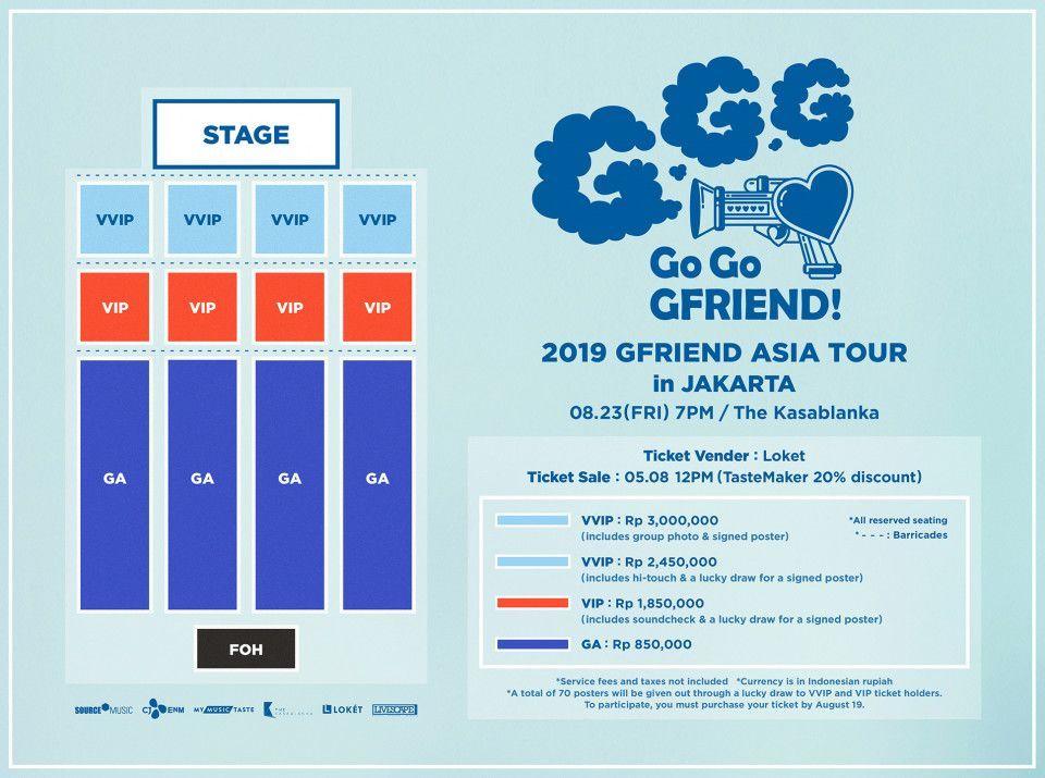 G-Friend Gelar Konser Go Go GFriend! di Jakarta