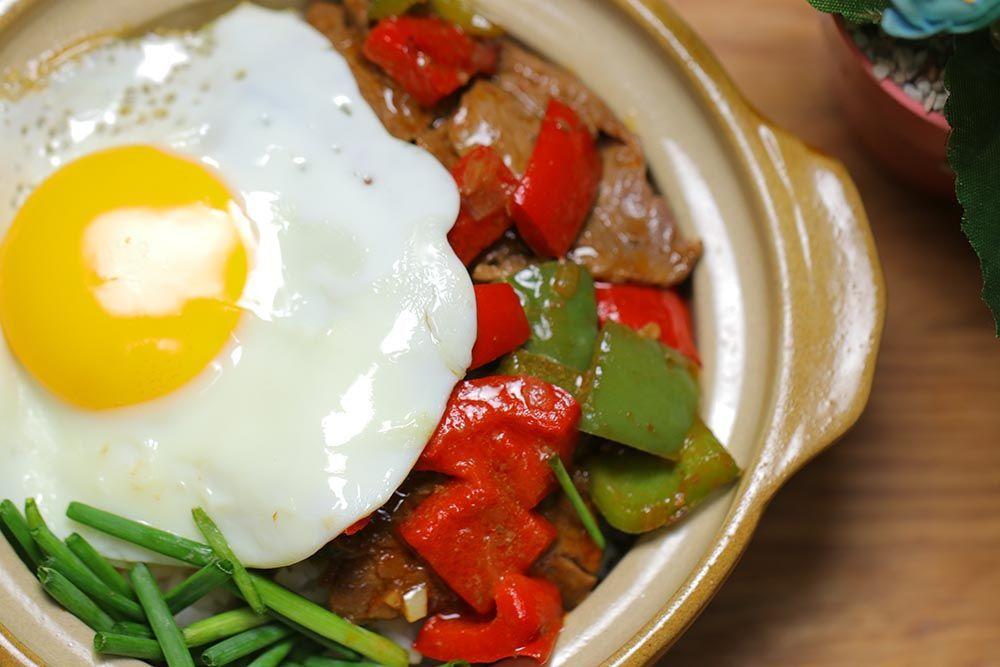 Resep Japanese Beef Rice Bowl ala Restoran Mewah