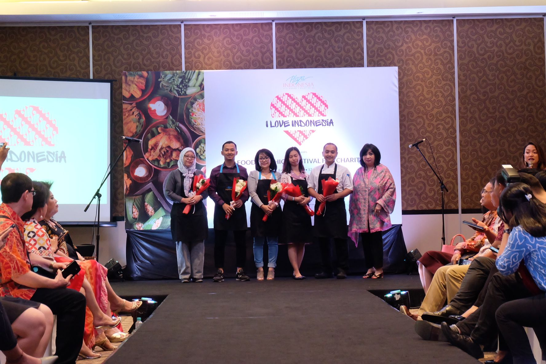 Kulineran Sambil Beramal di Acara 'Food and Fashion Charity'