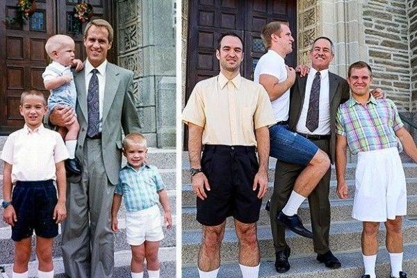 9 Gambar Lucu tentang Masa Kecil vs Masa Kini, Mana yang Paling Unik?