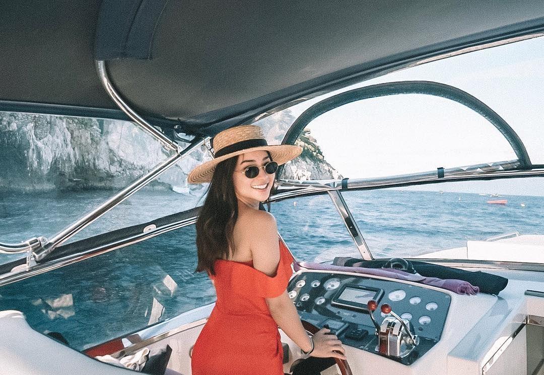 Potret Seksi Nikita Willy Saat Lagi Di Pantai