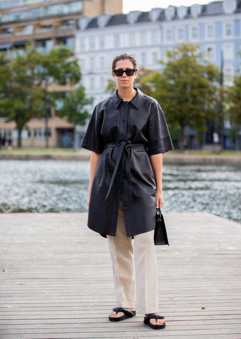Trik Bergaya Minimalis a la Street Style StarCopenhagen Fashion Week