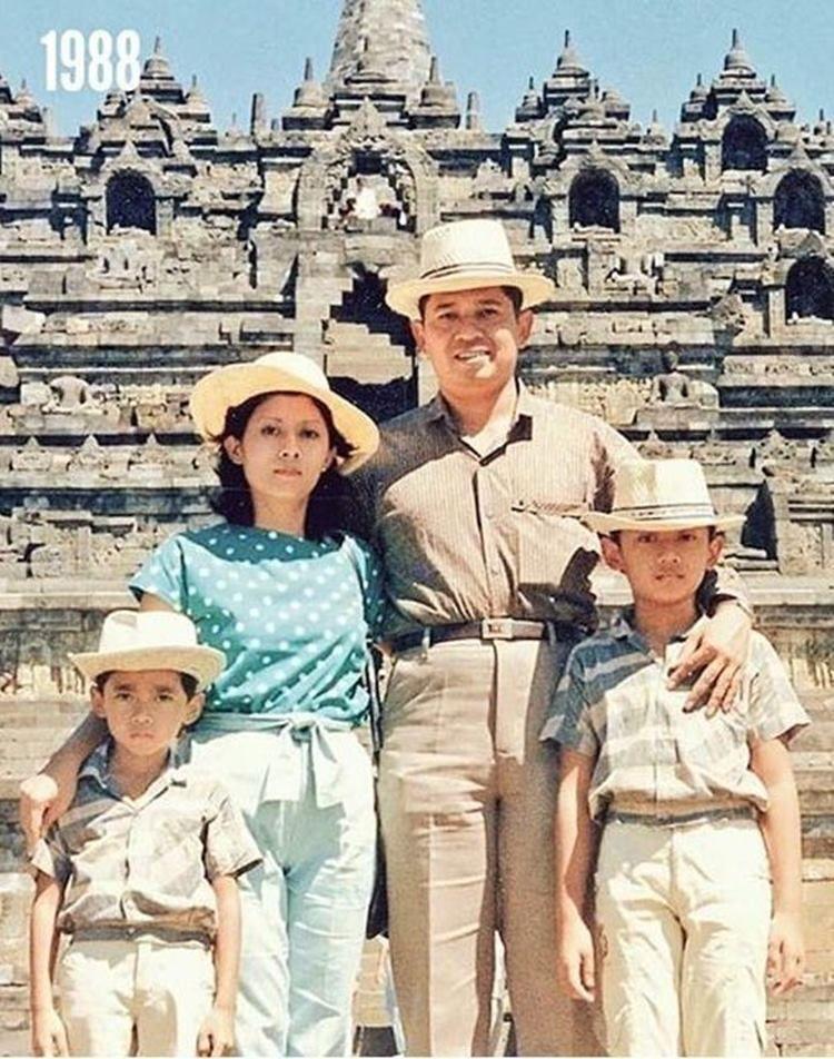Jadi Panutan, Potret SBY dan Keluarga yang Jarang Dilihat Publik
