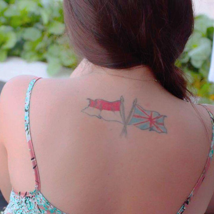 Aurelie Moeremans dan 11 Artis Perempuan yang Memesona dengan Tatonya